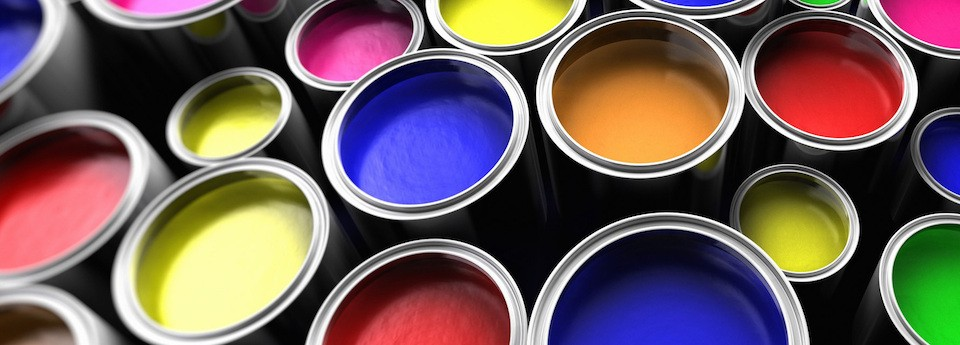 Inks for manufacturers of vinyl wallpaper
