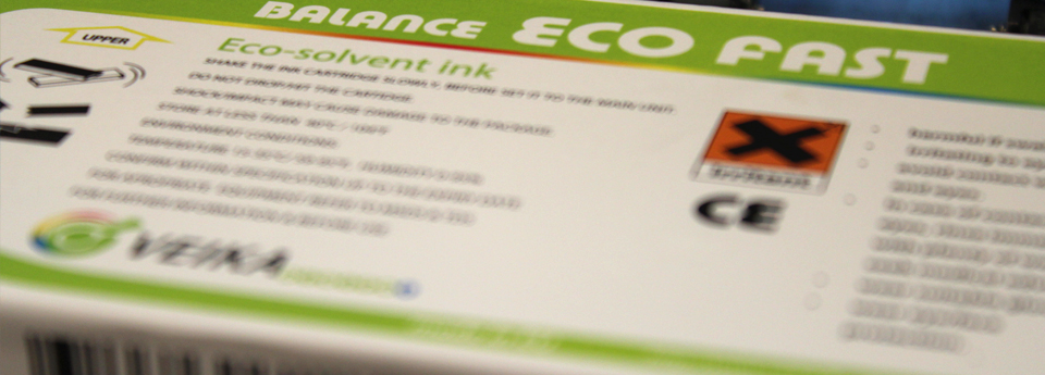 ECO-SOLVENT INKS FOR DIGITAL PRINTING